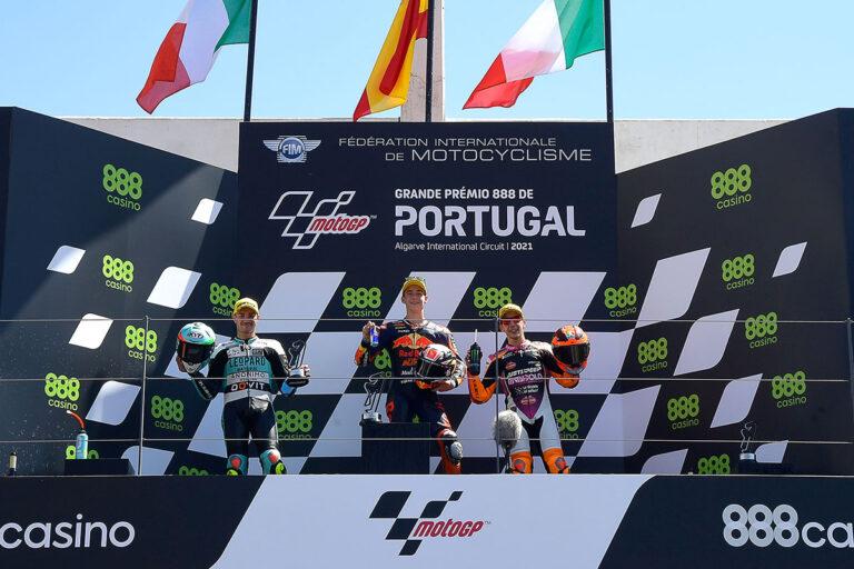 Moto3-2021-Portimao-Podio