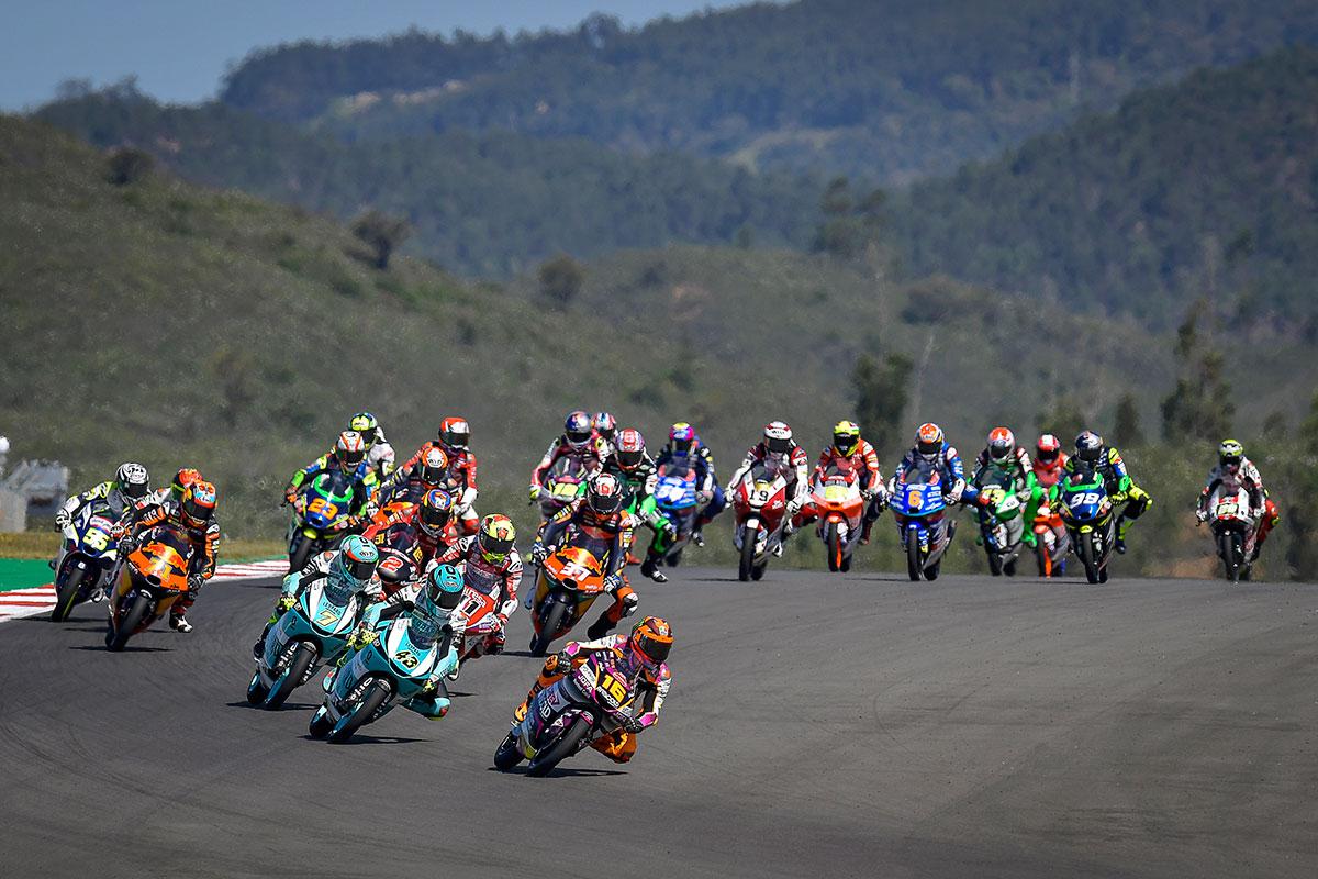 Moto3-2021-Portimao-Start