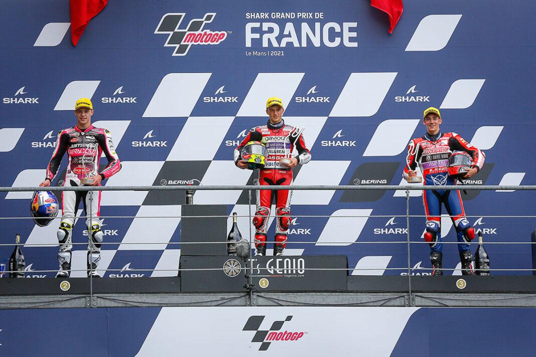 Moto3-2021-Le-Mans-Podio
