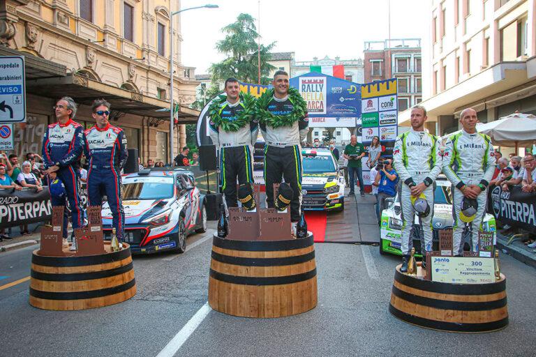 Italiano-WRC-2021-Rally-Marca-Trevigiana-podio