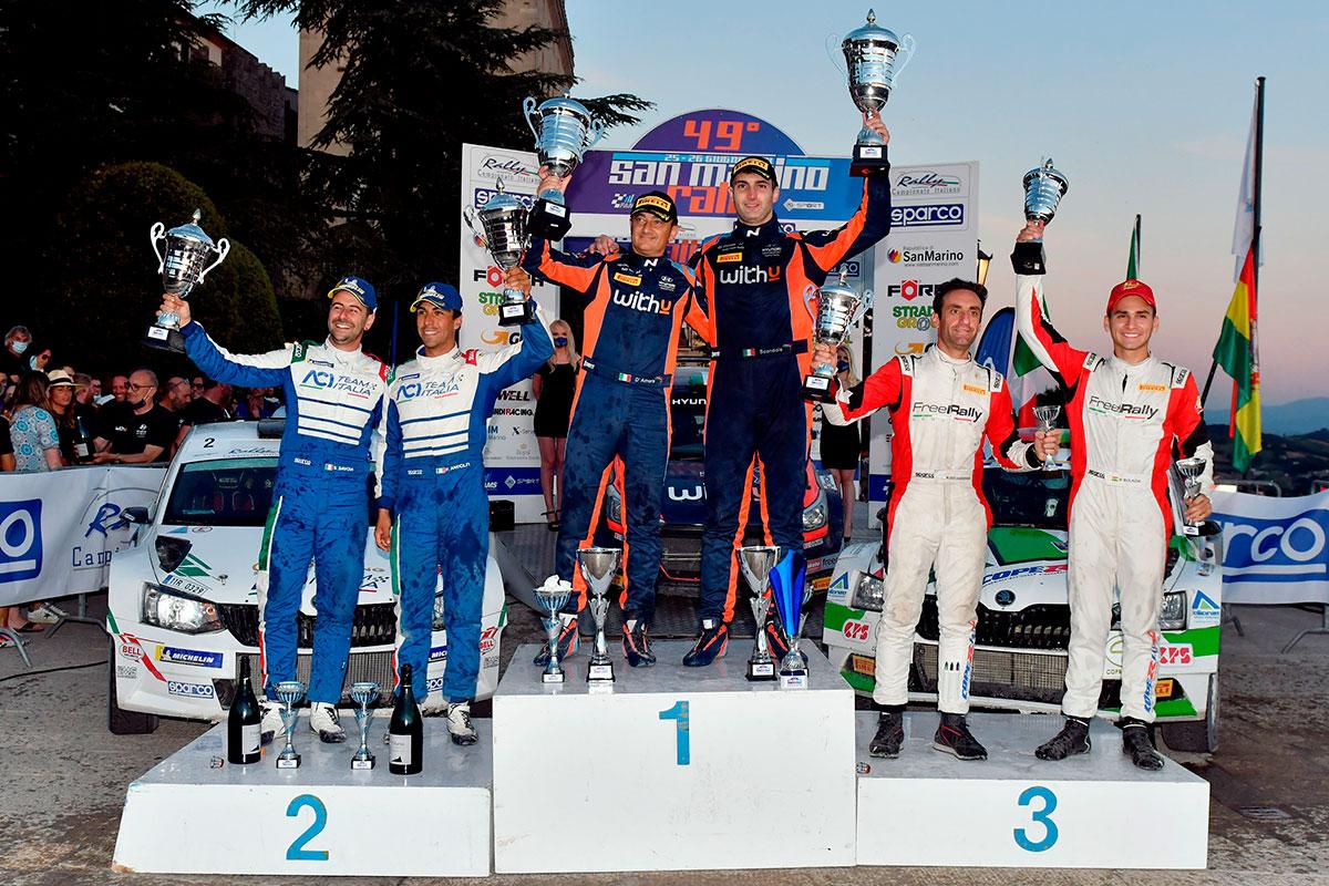 CIR-2021-San-Marino-Rally-podio